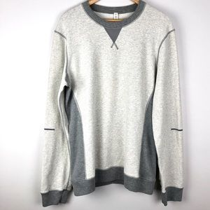 Lululemon Men's Crew Neck Sweater Heathered Grey